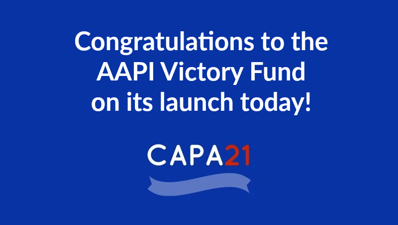 Congratulations to the New AAPI VictoryFund