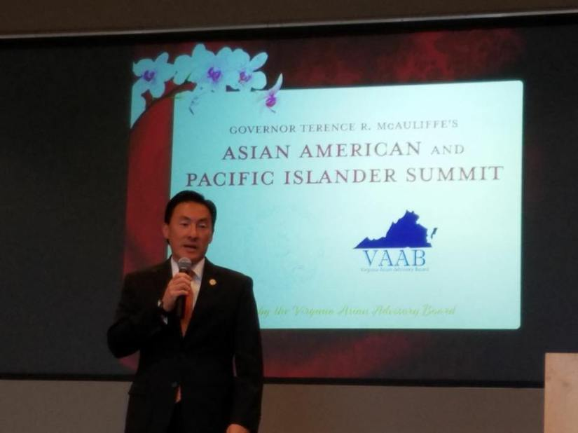 Virginia Governor McAuliffe Holds First AAPI Summit